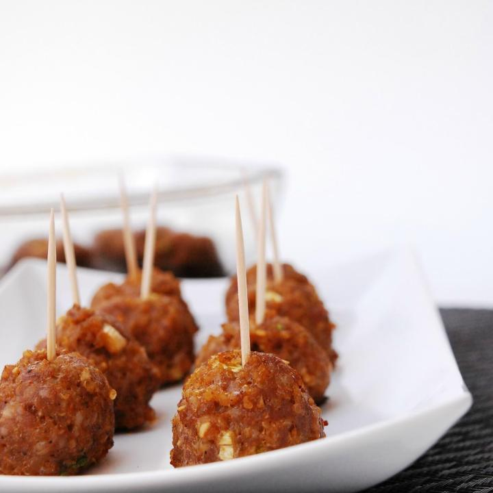 Gluten, Dairy & Egg Free Asian Quinoa Meatballs (Nut Free Too!)