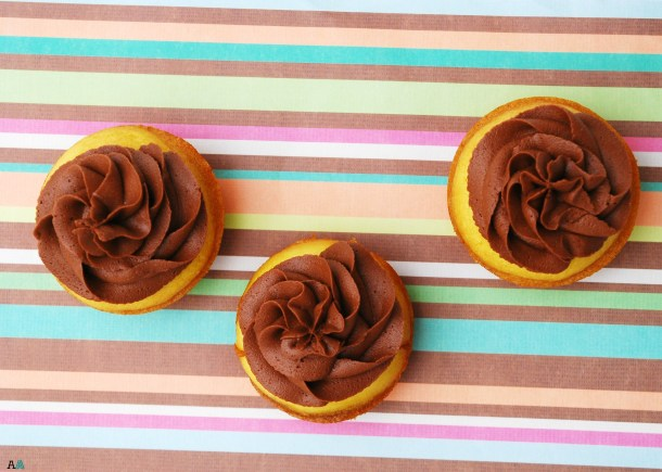 Boston Cream Pie Cupcakes (GF, DF, Egg, Soy, Peanut/Tree nut Free, Top 8 Free, Vegan) by Allergy Awesomeness