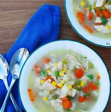 Gluten Free Chicken Pot Pie Soup by Allergy Awesomeness