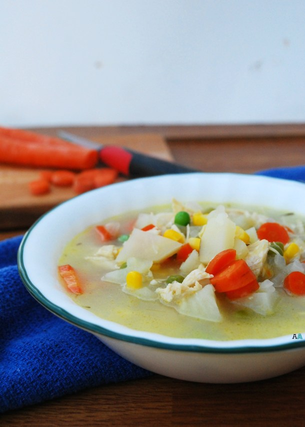 Chicken Pot Pie Soup by Allergy Awesomeness