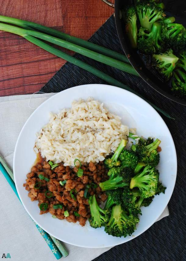 30 Minute Korean Chicken and Broccoli (GF, DF, Egg, Soy, Peanut/Tree nut Free, Top 8 Free) by Allergy Awesomeness