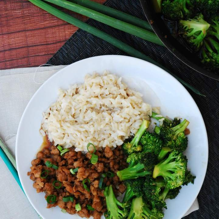 30 Minute Korean Chicken and Broccoli (GF, DF, Egg, Soy, Peanut/Tree nut Free, Top 8 Free)
