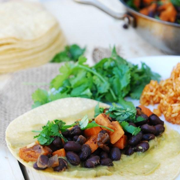 Sweet Potato, Black Bean & Lime Taquitos (GF, DF, Egg, Soy, Peanut/Tree nut Free, Top 8 Free, Vegan)