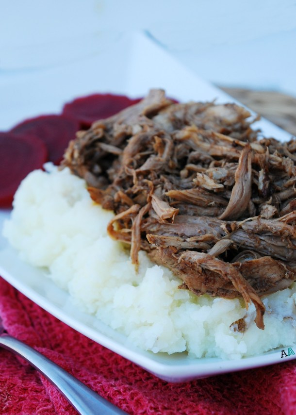 Slow Cooker Balsamic Pork (GF, DF, Egg, Peanut, Tree nut Free) Recipe by Allergy Awesomeness