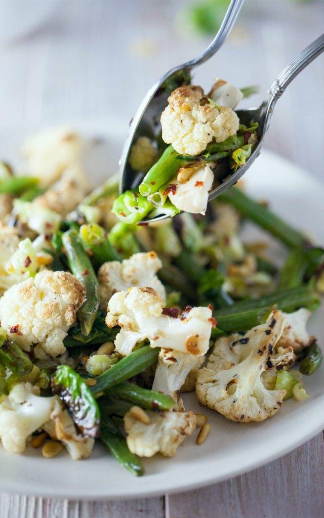 cauliflower brussells sprout