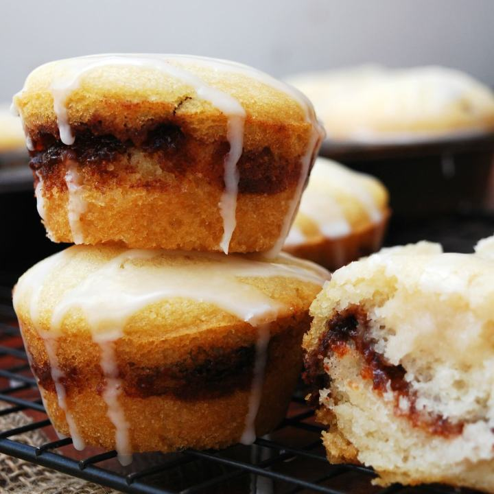 Cinna-Swirl Muffins (GF, DF, Egg, Soy, Peanut, Tree nut Free, Top 8 Free, Vegan) Recipe by Allergy Awesomeness