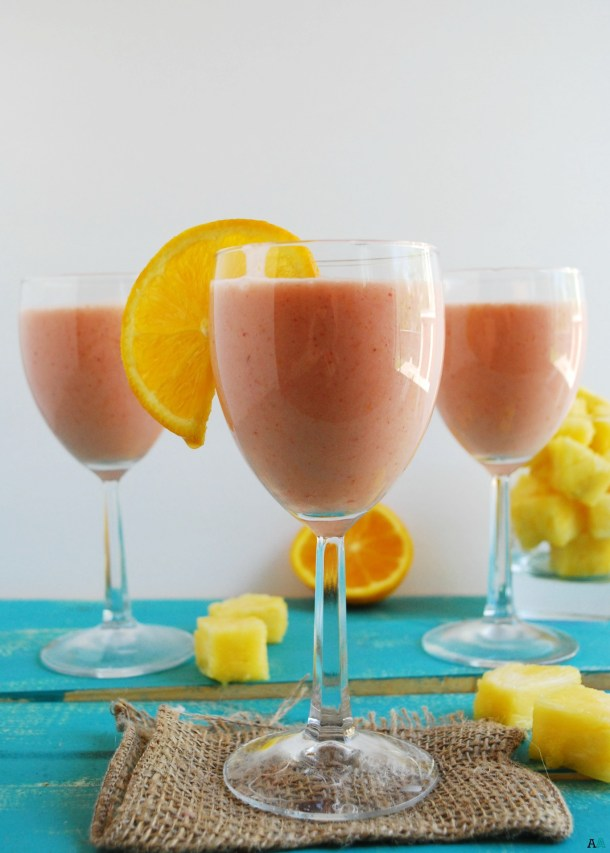 Miami Vice Smoothie (GF, DF, Egg, Soy, Peanut, Tree nut Free, Top 8 Free, Vegan) Recipe by Allergy Awesomeness