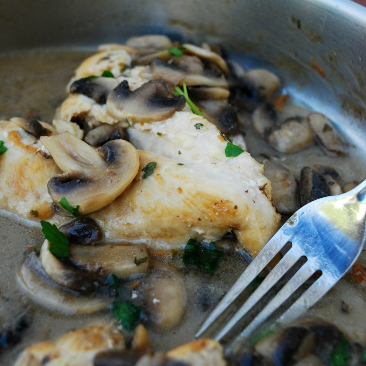 30 Minute Chicken & Mushroom Marsala (GF, DF, Egg, Soy, Fish, Shellfish, Peanut, Tree nut Free, Top 8 Free)