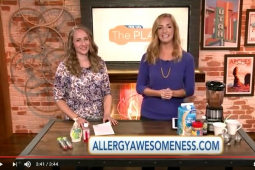 Allergy Awesomeness on Fox 13's The Place