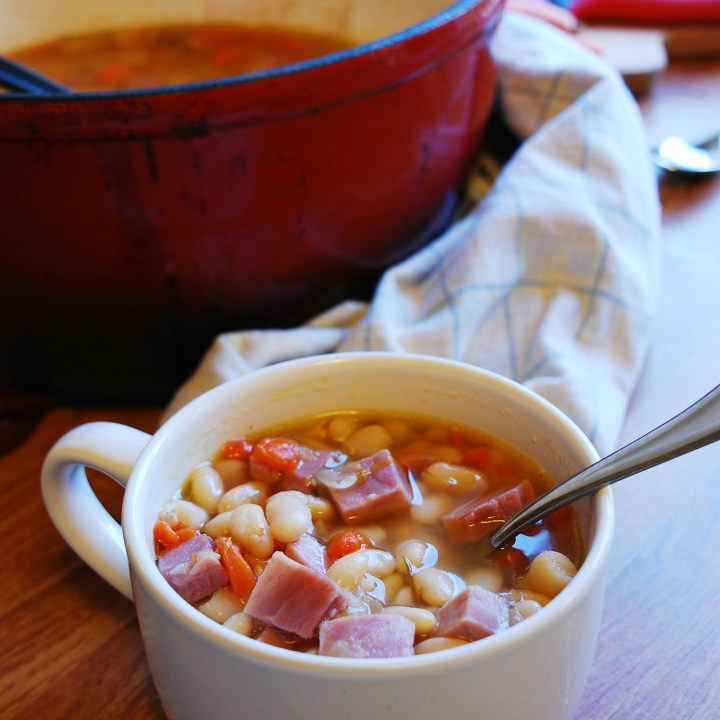 Ham & Bean Soup (Gluten, dairy, egg, soy, peanut & tree nut free; top 8 free)