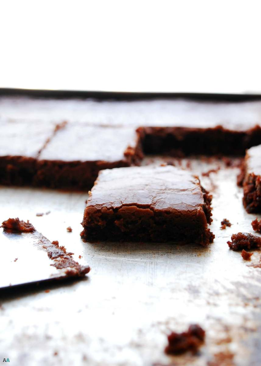 Chocolate Sheet Cake (Gluten, dairy, egg, soy, peanut and tree nut free; top 8 free; vegan)