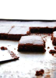 Chocolate Sheet Cake (Gluten, dairy, egg, soy, peanut and tree nut free; top 8 free; vegan) Dessert recipe by AllergyAwesomeness.com