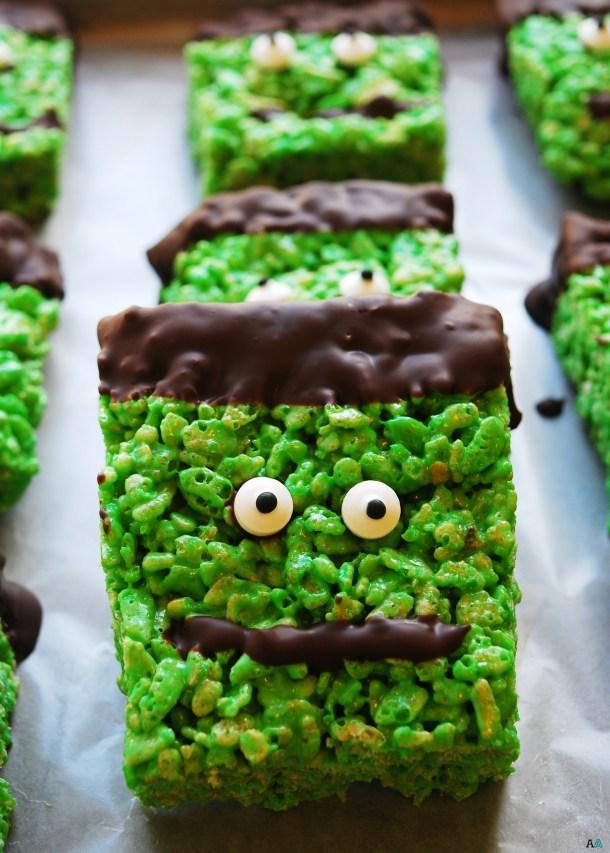 Gluten-free homemade Halloween Treats