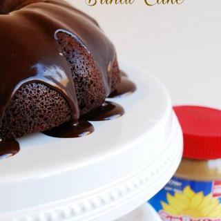 SunButter Buckeye Bundt Cake Recipe by AllergyAwesomeness.com