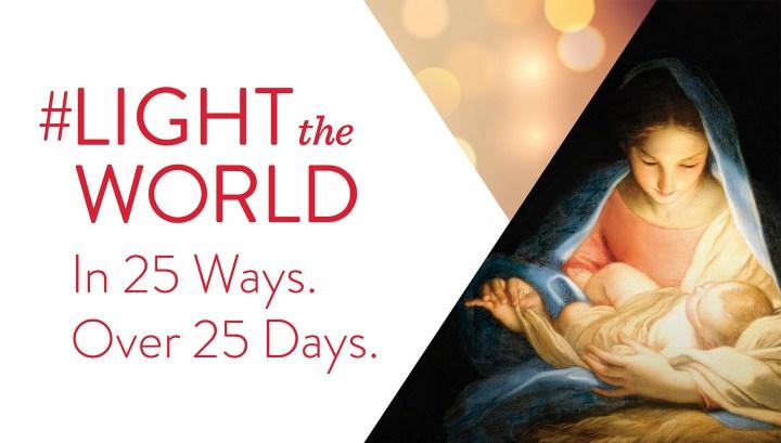 #LightTheWorld