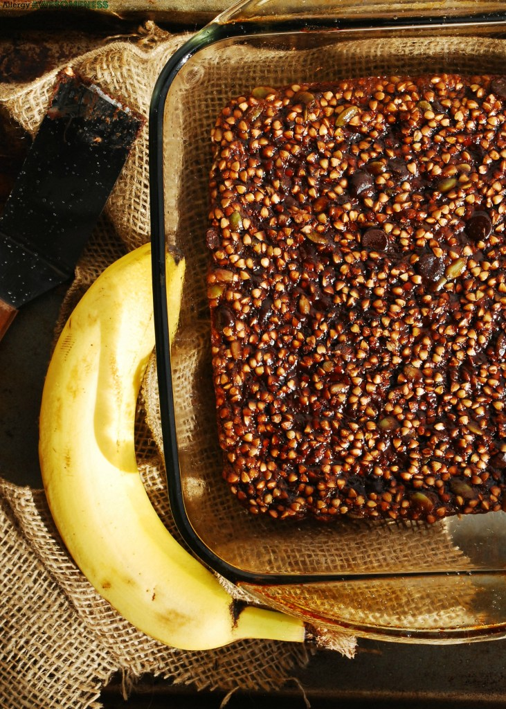 gluten-free buckwheat granola bars by AllergyAwesomeness
