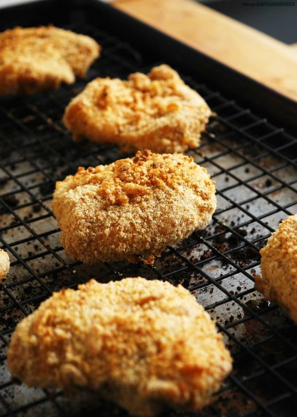 Egg-free Unfried Chicken Recipe by AllergyAwesomeness