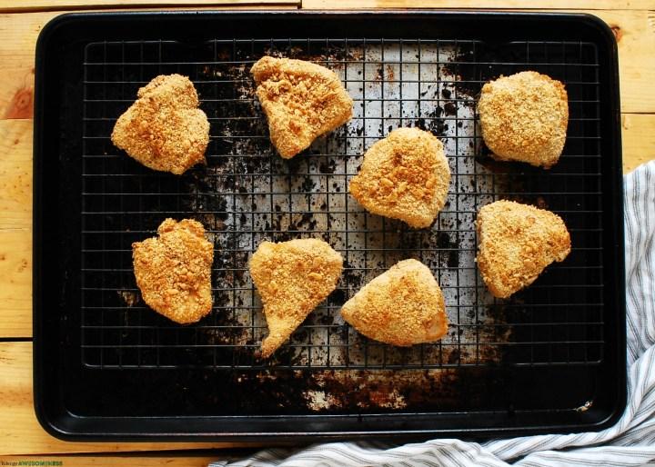 Oprah's Unfried Chicken Made Gluten-free Recipe by AllergyAwesomeness
