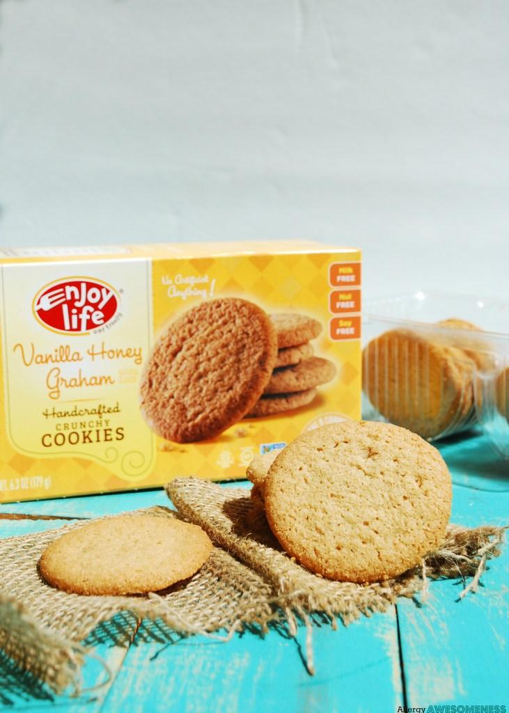 Enjoy Life Vanilla Honey Graham Crunchy Cookies