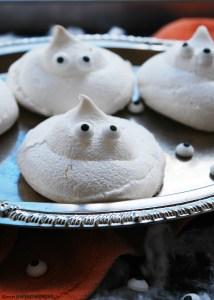 egg free ghost meringue
