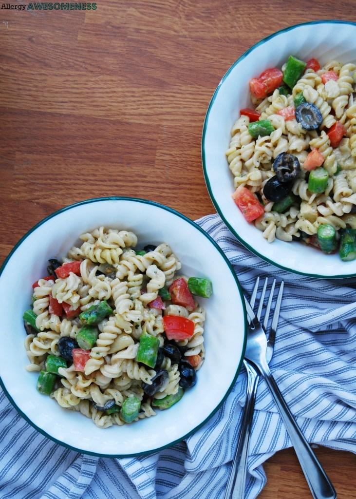 Gluten-free Tuscan Pasta Salad