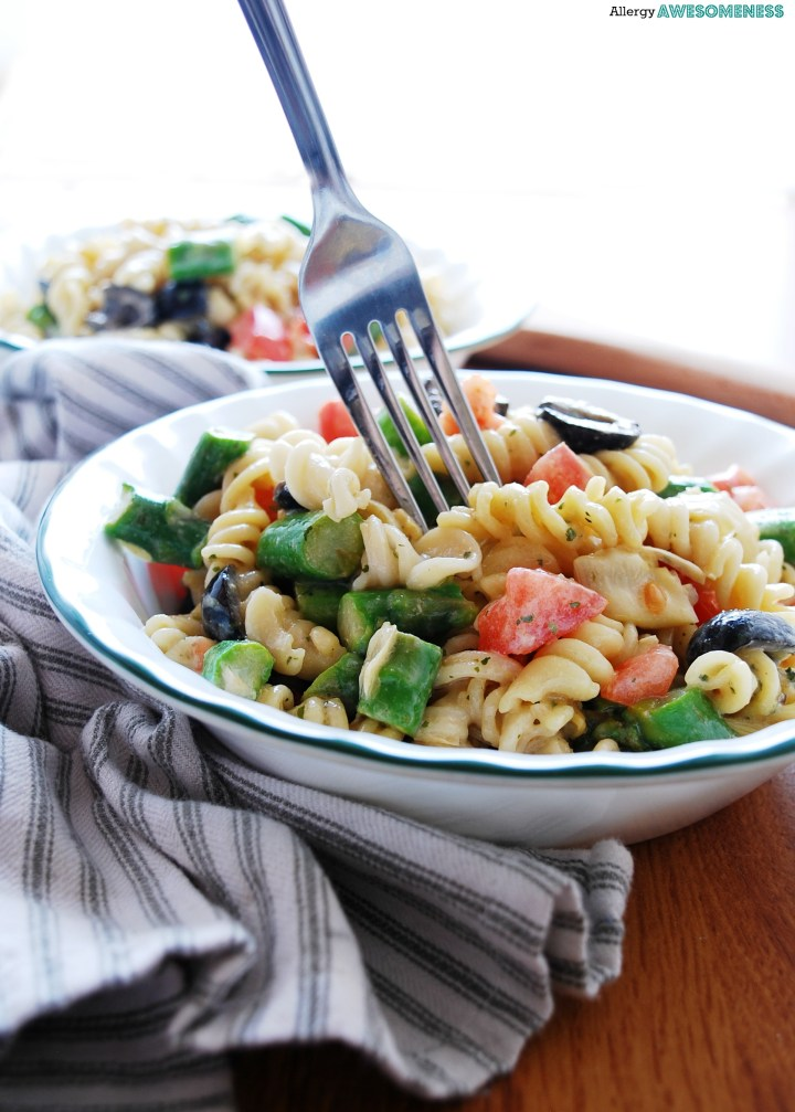 The Best Tuscan Pasta Salad