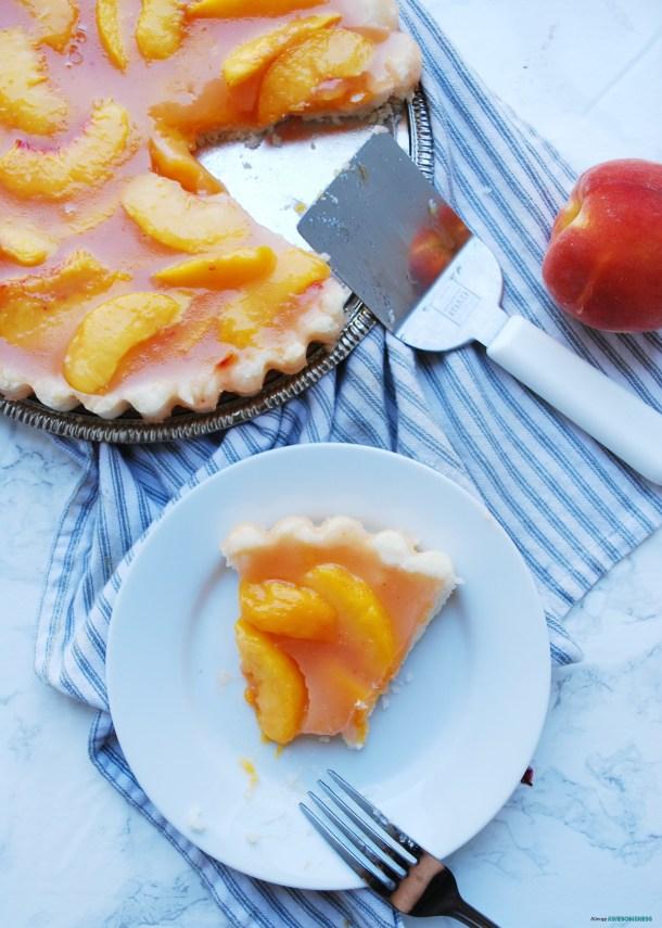 Dairy-free Peach Pie