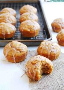 Allergy-friendly pumpkin spice muffins