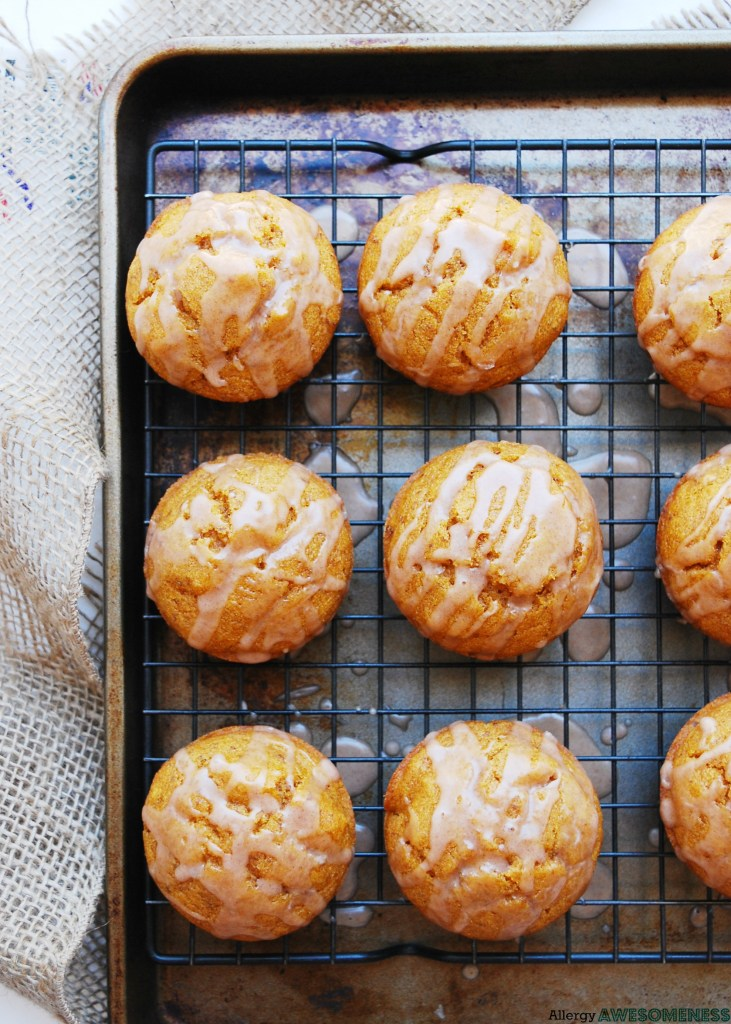 How to make pumpkin muffins for food allergies