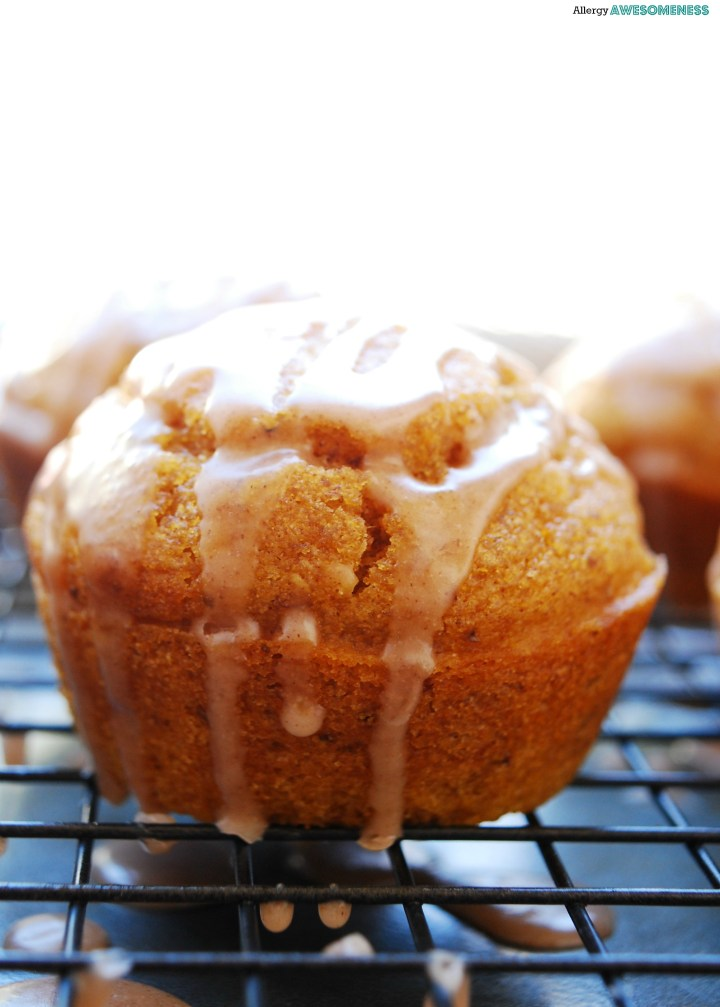 How to make pumpkin spice muffins egg free