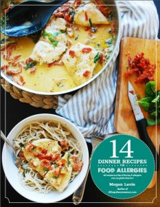 recipe e-book for food allergies