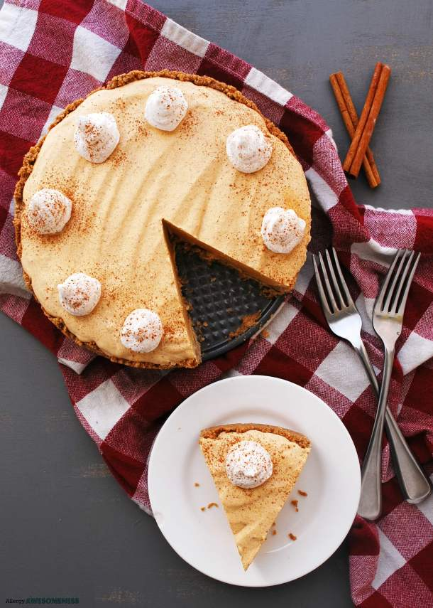 Allergy-friendly Pumpkin Pie