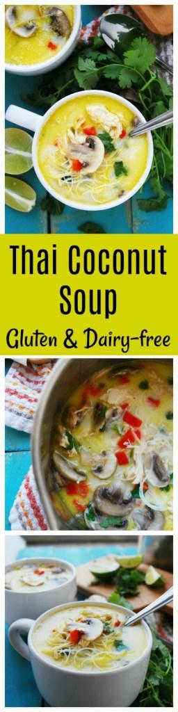 Thai Coconut Soup Gluten & dairy-free recipe