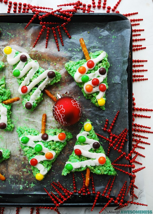 no bake allergy-friendly christmas treat
