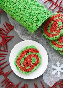 christmas rice krispies recipe