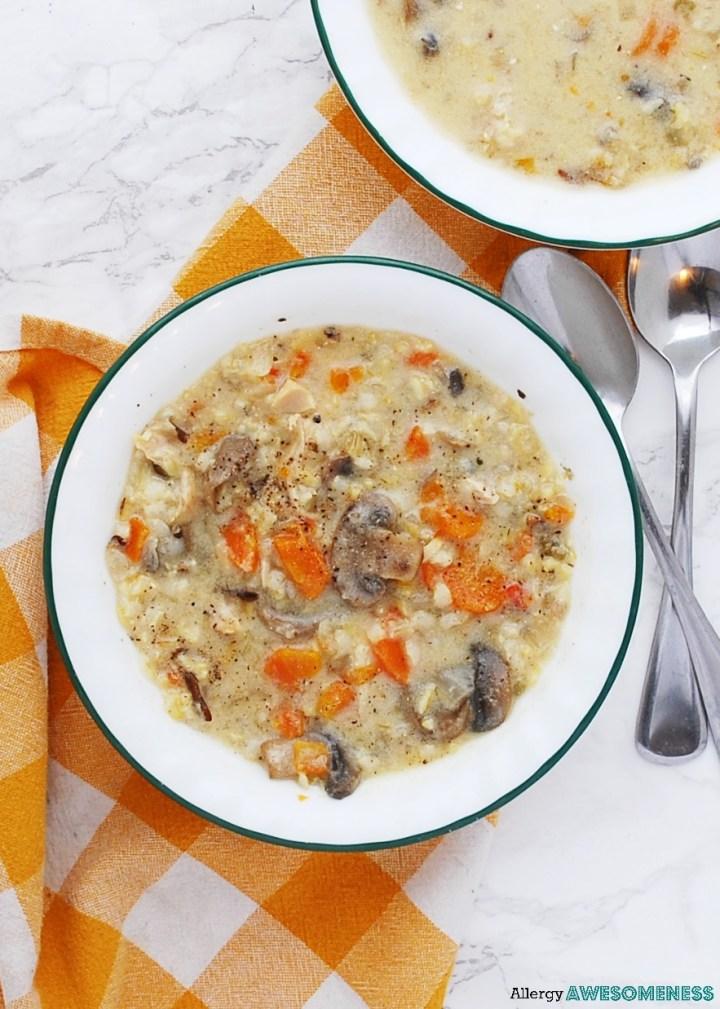 gluten-free instant pot chicken and wild rice