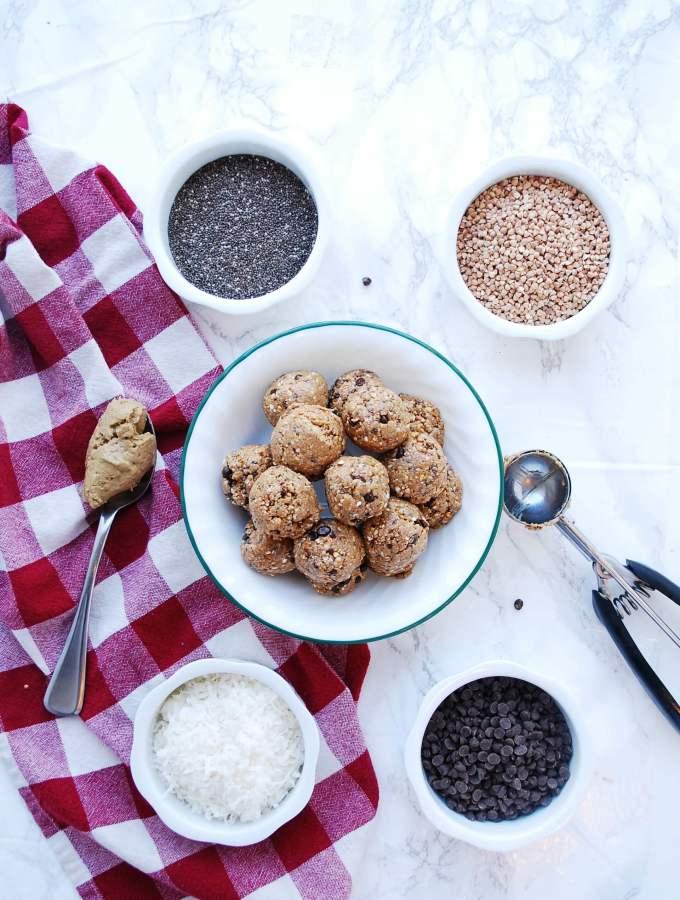 gluten-free vegan energy balls