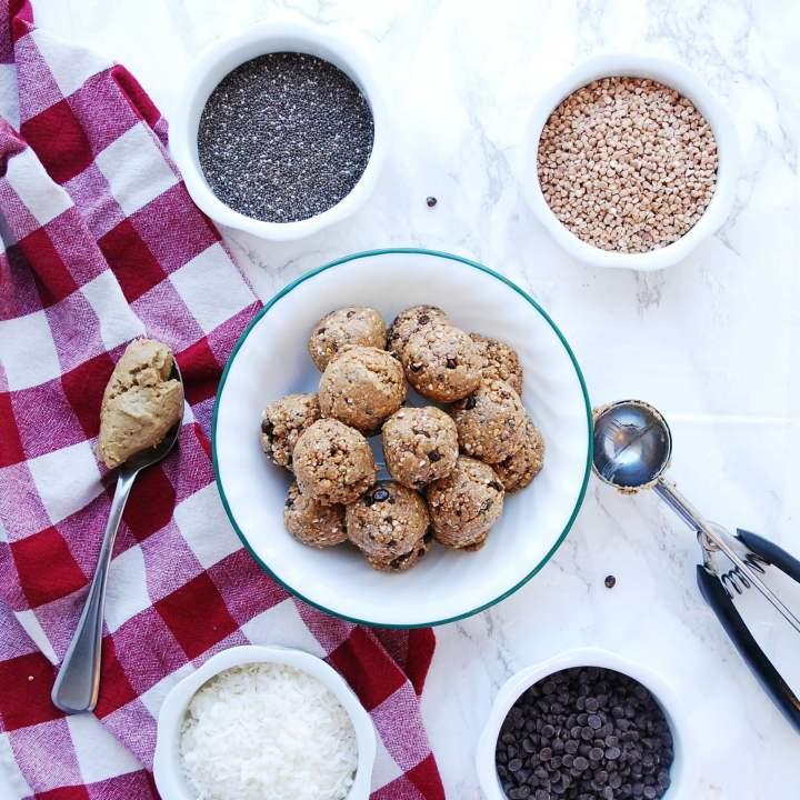 Gluten, Dairy & Oat-free Energy Balls