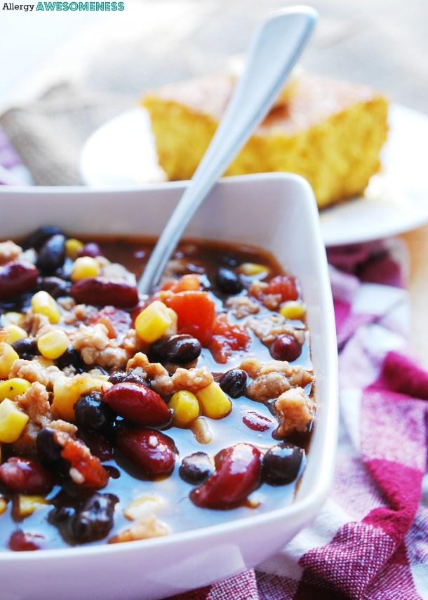 dairy-free taco soup recipe