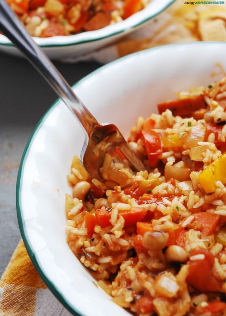 vegetarian-30-minute-skillet-jambalaya