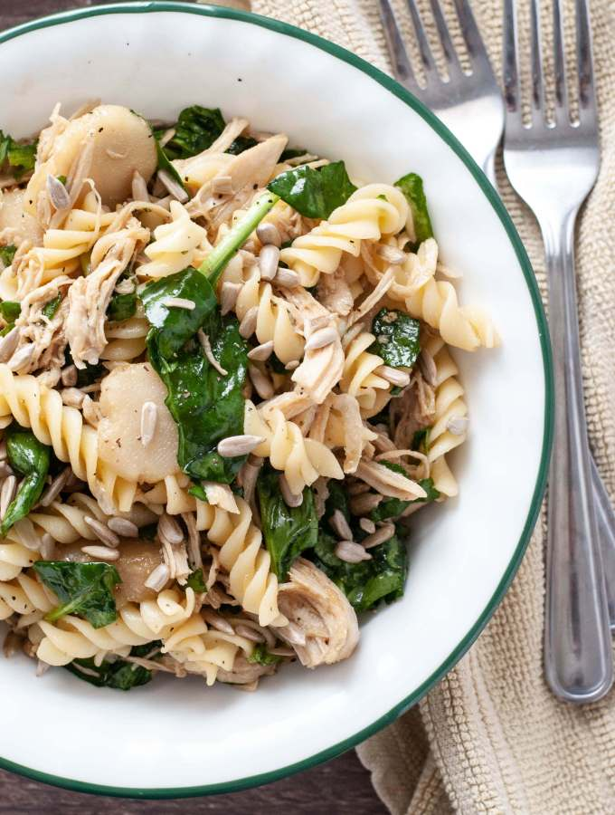nut-free-asian-spinach-pasta-salad