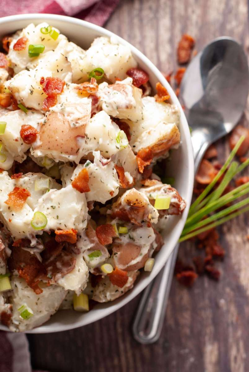 Instant Pot Dairy-free Ranch Potato Salad
