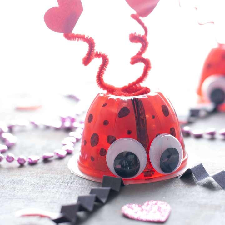 Allergy-friendly Valentine Love Bugs