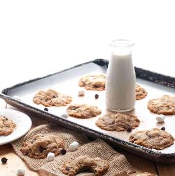 gluten-free-vegan-smores-cookie