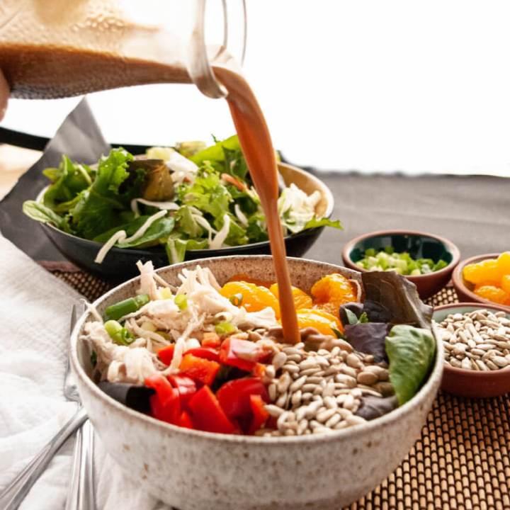 Allergy-friendly Thai Chopped Salad