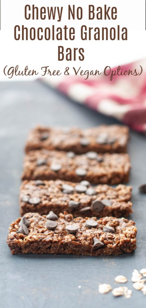 chewy gluten free granola bar recipe by allergy awesomeness