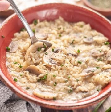 mushroom-rice