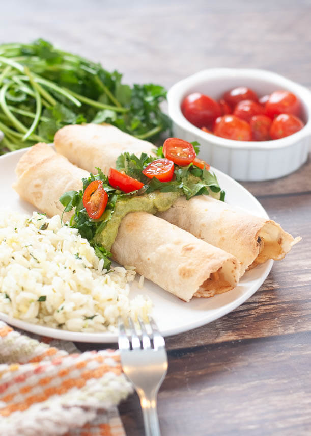 gluten-and-dairy-free-baked-chicken-taquitos