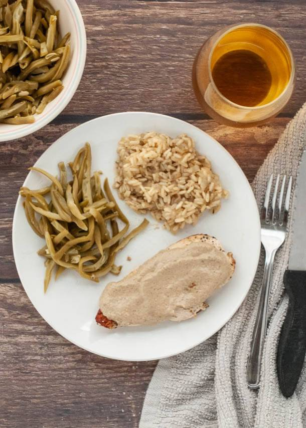gluten free creamy mustard chicken