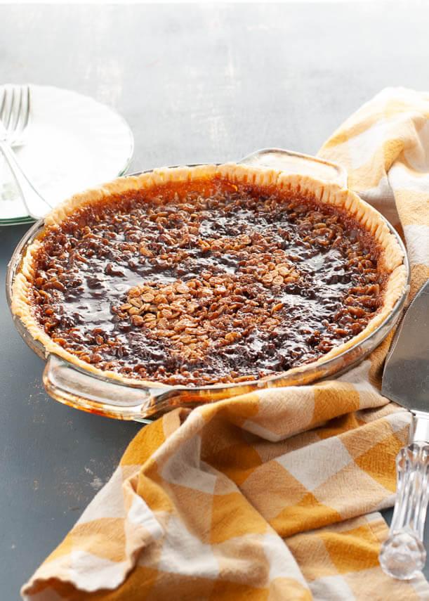 how-to-make-pecan-pie-nut-free